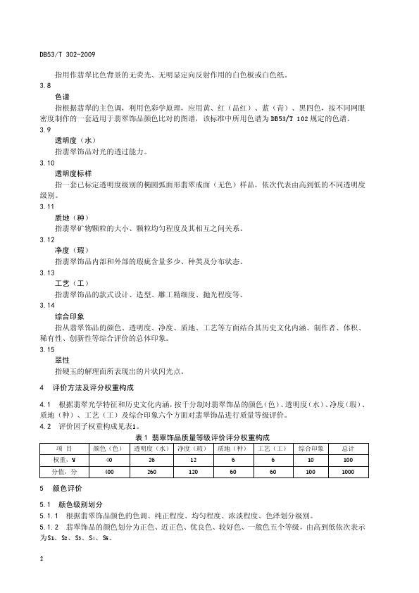 DB53T 302-2009翡翠饰品质量等级评价_008.jpg